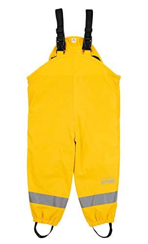 Sterntaler Unisex Kinder Regenträgerhose Gefüttert Rain Pants