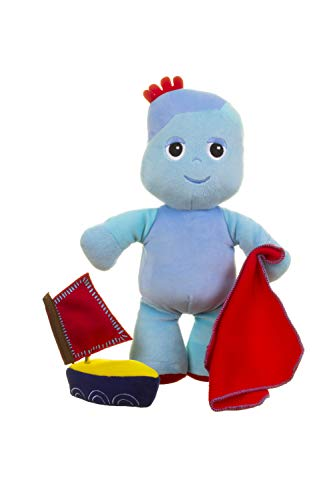 In the Night Garden Iggle Piggle Wind-Up Musical Boat, Sleep Aid and Soft Toy, Cbeebies, Cuddly Bedtime and Travel Buddy, Age From Birth