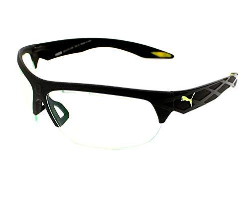 Puma PU0001S-001 Gafas, negro, 60/14/128 Unisex Adulto