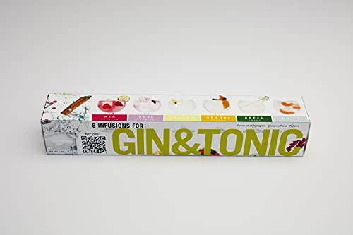 Black Friday promo regalo de Navidad Botanicos gin tonic! Regalo Especias Gin Tonic naturales -Gin & Tonic selección. 6 infusiones variadas para aromatizar tu cóctel