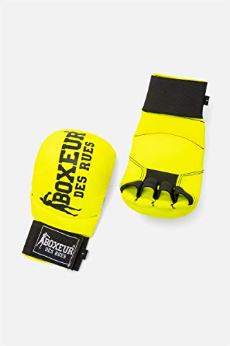 BOXEUR DES RUES - Karate And Fit-boxing Gloves In Yellow, Unisex