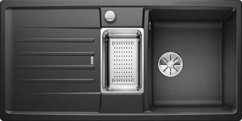 Blanco 524930 Lexa 6 S Küchenspüle, anthrazit, 60 cm Unterschrank