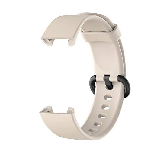 ADMOS Correa de Reloj Compatible para Xiaomi Mi Watch Lite/Redmi Watch Lite Reloj Inteligente Reemplazo Correa de Silicona Correa de muñeca