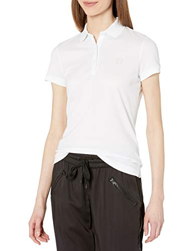 Armani Exchange Shirt Camisa, Color Blanco, S para Mujer
