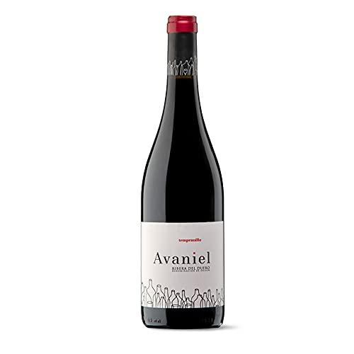 Vino Tinto Avaniel Joven de 75 cl - D.O. Ribera del Duero - Bodegas Monteabellon (Pack de 1 botella)