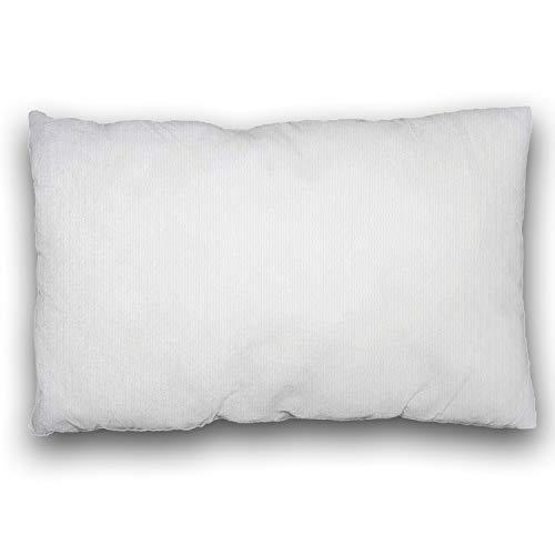 LILENO HOME - Set di 1 imbottitura per cuscino, cuscino interno lavabile adatto per persone allergiche, imbottitura in poliestere per cuscini da divano, poltrona, sedie e poggiatesta 30 x 50 cm