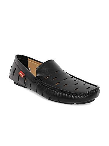MOCAS Men's Black Loafers - 11 UK/India (45 EU)(Mensfootwear-775-BLACK-11)