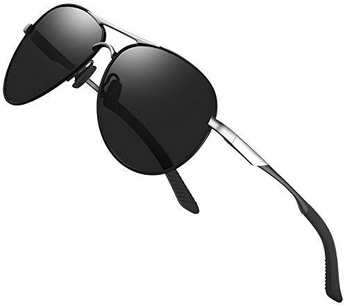 Gafas de sol polarizadas para hombre mujere metal Marco grande/Ciclismo Golf Conducción Pesca Escalada Verano Deportes