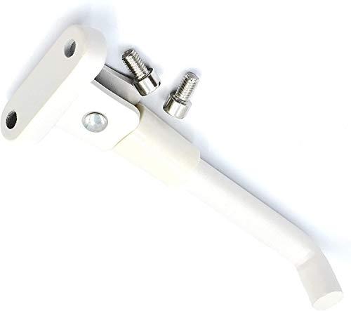 Soporte para Pies de Scooter para Xiaomi M365 Scooter Eléctrico Accesorios de Estacionamiento para Minipatinetes Soporte De Estacionamiento para Scooter para M365 (Blanco)