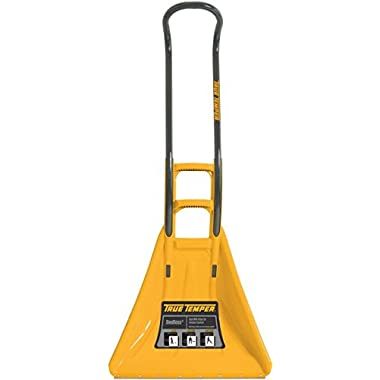 True Temper SnoBoss 26-Inch Ergonomic Poly Combo Snow Shovel- 1625300