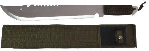 MP9 Arbeitsmachete Machete ca. 49,5 cm mit Nylonscheide mit rostfreier Klinge