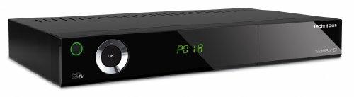 TechniSat TechniStar S1 HDTV-Digitaler Satelliten-Receiver (CI+ Schacht, HDMI, Conax-Kartenleser, PVR-Ready) schwarz