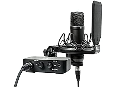Rode NT1 Condenser Microphone & AI-1 One-Channel USB Audio Interface Pack from Rode