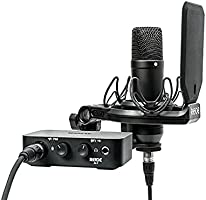 RØDE microphones NT1/AI1KIT NT1 - Kit completo per studio con interfaccia audio, Nero