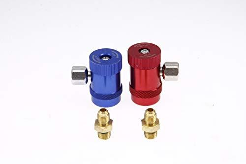 R1234yf Schnellkupplung Stecker 1/4 Zoll AC R134A Hoch- / Niederdruck Adapter Für R1234YF Klimaanlage Kühlsysteme