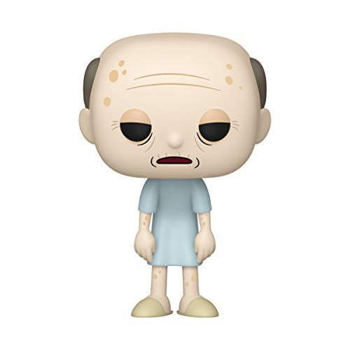 Funko- Pop Animation: Rick & Morty-Hospice Morty Rick and Collectible Toy, Multicolor, Talla Única (45436)