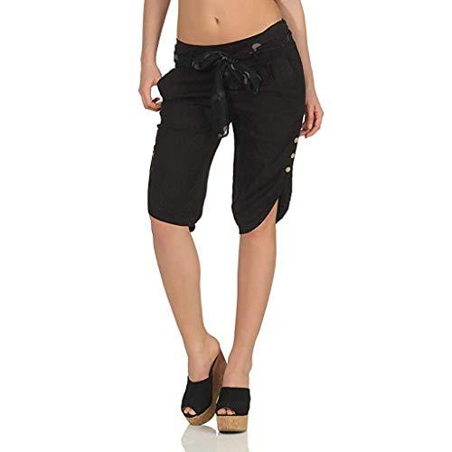 FRAUIT Plus Size Oversize Pantaloncini Donna Sportivi Corti Run Yoga Pants Ragazza Push Up Pantaloncini Eleganti Taglie Forti Pantaloni Estivi Leggeri Shorts Palestra Yoga Pants Bermuda Ginocchio