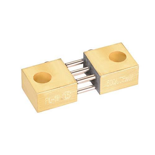 Shunt Resistor 500 A 75 mV para DC Current Ammeter Analógico Panel Meter External FL-19 Shunt Divider