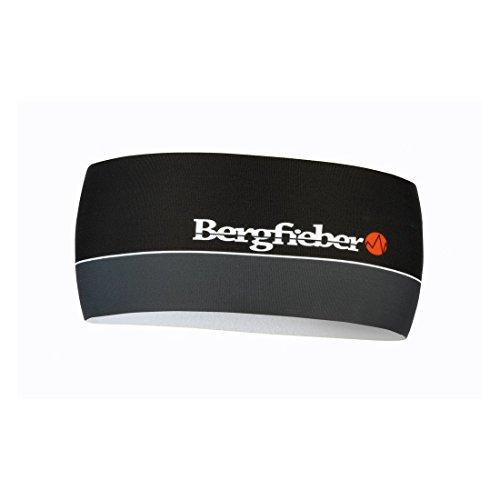 Bergfieber Damen HB-DO BF Stirnband, Schwarz/Grau(Black/Gray), One Size