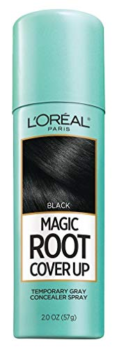 Loreal Root Cover Up Spray Black 2 Ounce (59ml) (6 Pack)