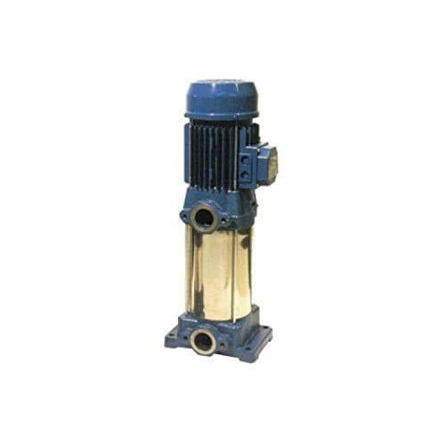 Bomba centrífuga multicelular vertical, serie CVM AM/4 para aguas limpias, presurización contra incendios, riego y lavado industrial, 0,3 kW y 0,4CV, color azul (referencia: 2170000000)