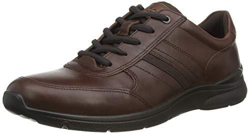 Ecco Herren IRVING Sneaker, Braun (Mink 12014), 43 EU