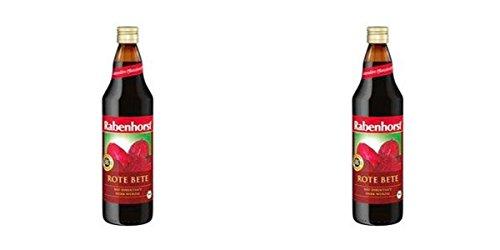 (2Pack)–Rabenhorst rote Bete Saft–100% Pure | 750ml | 2Pack–Super Saver–Sparen Sie Geld