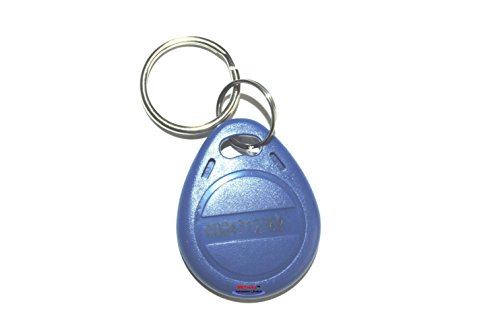 METechs - 10Pcs Standard RFID 125KHZ Proximity EM Fob for Keyless Door Locks