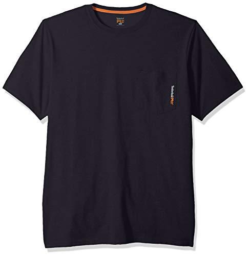 Timberland PRO Herren Base Plate Blended Short-Sleeve Arbeits-T-Shirt, Dunkles Marineblau, XX-Large Hoch