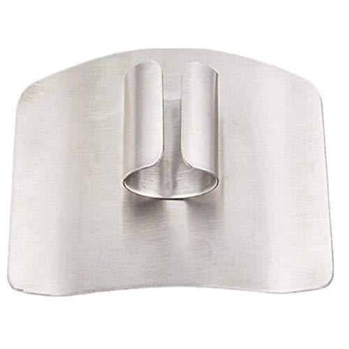 Cuchillo De Acero Inoxidable Protector De Dedos Protector de corte Chop Herramienta de Metal de guardia segura