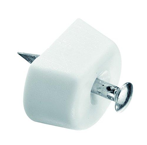 HSI 655860.0 Bodenträger mit Nagel Kunststoff weiß 80 St Stück