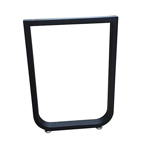 YXB Aangepaste U-vormige bar tafel poten bureau kast benen Iron steun benen unilaterale benen gebogen bar benen tafel benen