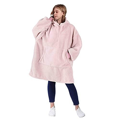 Catalonia Oversized Blanket Hoodie Sweatshirt with...