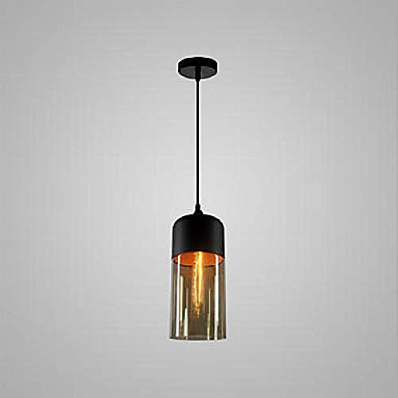 Zylindrischer Kronleuchter, lackiertes Metall, Glasbirne, einstellbare dekorative Beleuchtung