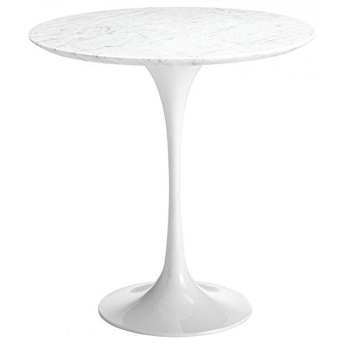 Eero Saarinen Mesa Circular de Estilo Tulip mármol