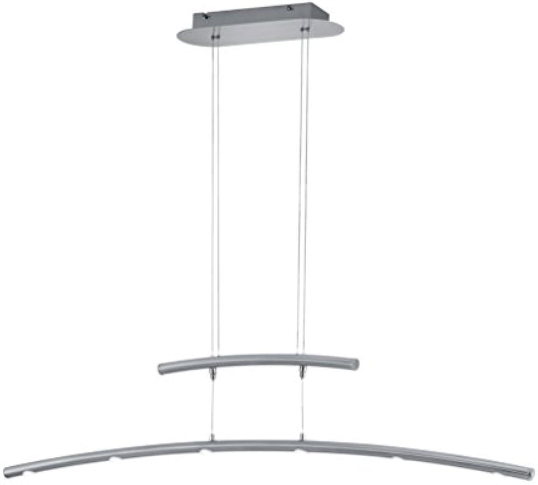 Trio Leuchten LED-Jojo-Pendel COLUMBUS in Nickel matt, Aluminium 378490607