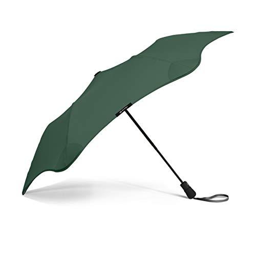 Blunt Tempête paraplu, inklapbaar, 6 steunen, onbreekbaar, glasvezel, windscherm, kantelbeveiliging, grote bescherming met 95 cm diameter, zeer duurzaam, groen