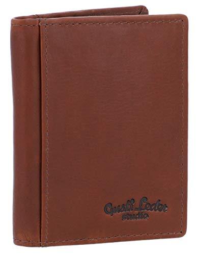 Gusti Cuero Studio HAL Cartera de Cuero Auténtico Monedero de Piel Billetera Vintage Retro 2A122-33-8