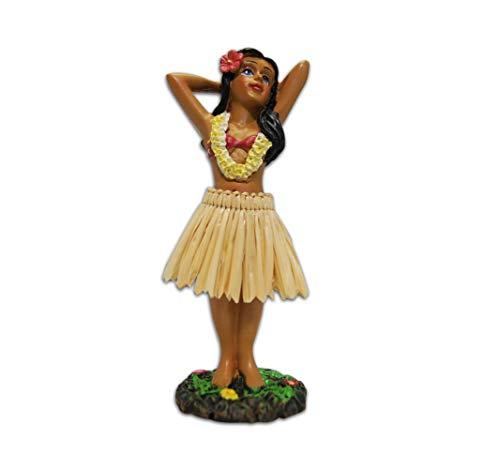 Hula Girl Posing Mini-Puppe für Armaturenbrett, 11,2 cm
