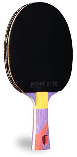 JOOLA Omega Strata - Table Tennis Racket with Flared Handle - Tournament...