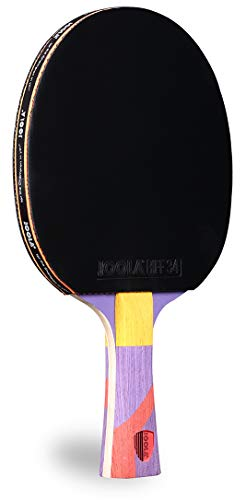 JOOLA Omega Strata - Table Tennis Racket with Flared Handle - Tournament...