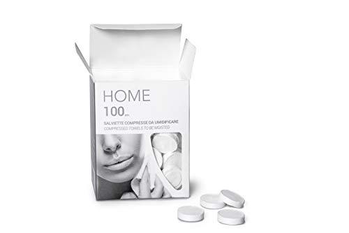 NAPKIN HOME 100 (BOX 100PZ) MINI SALVIETTE COMPRESSE IN VISCOSA ANALLERGICHE