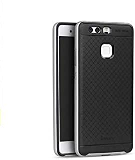 Huawei P9 iPaky TPU+PC case/cover - Black & Silver