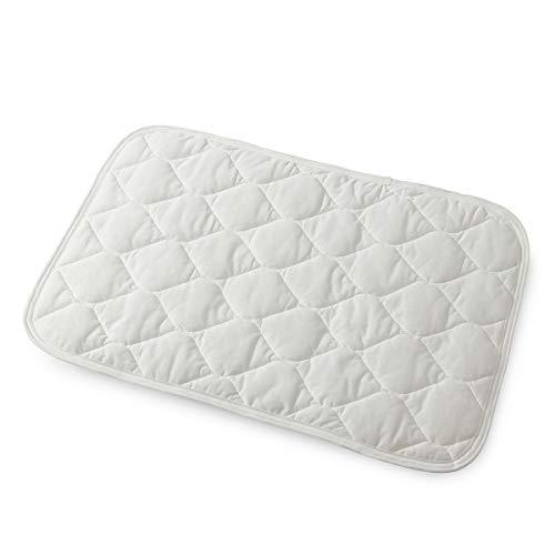 ナイスデイ 枕パッド オフホワイト 43×63cm mofua(モフア)綿100% ドライコットン さらっと快適 抗菌 防臭 ムレない 洗える 41280042