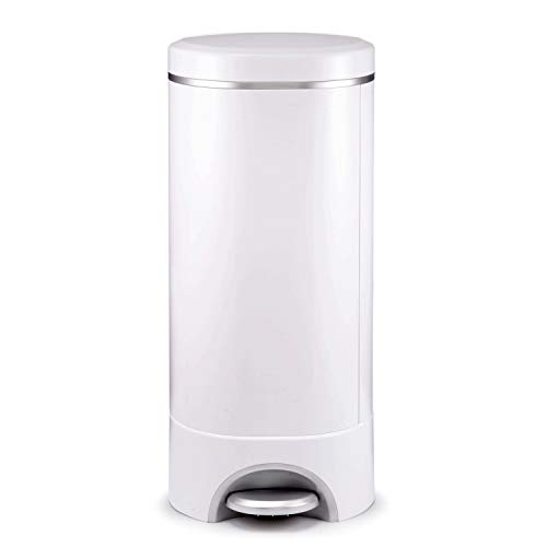 Munchkin Step Diaper Pail Powered by Arm & Hammer, Includes (1) Bonus Toss Disposable Diaper Pail