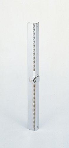 Durham Steel Locking Hinge for Small Slide Racks, 312, 1-1/4' Width x 13-1/2' Height, Chrome Plated Finish