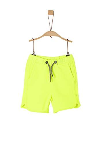 s.Oliver Junior Jungen 404.10.005.18.183.2038423 Lässige Shorts, 0071 neon, 110/REG