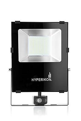 Hyperikon LED Motion Sensor Flood Light, 5000K, ETL Listed, 150 Watts