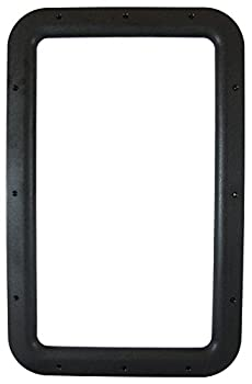 Valterra A77012 Black Carded Interior Entrance Door Window Frame