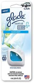 2X Glade Vent Oil Car Ac Direct stock discount and Air Eliminate Freshener Odors Arlington Mall Home